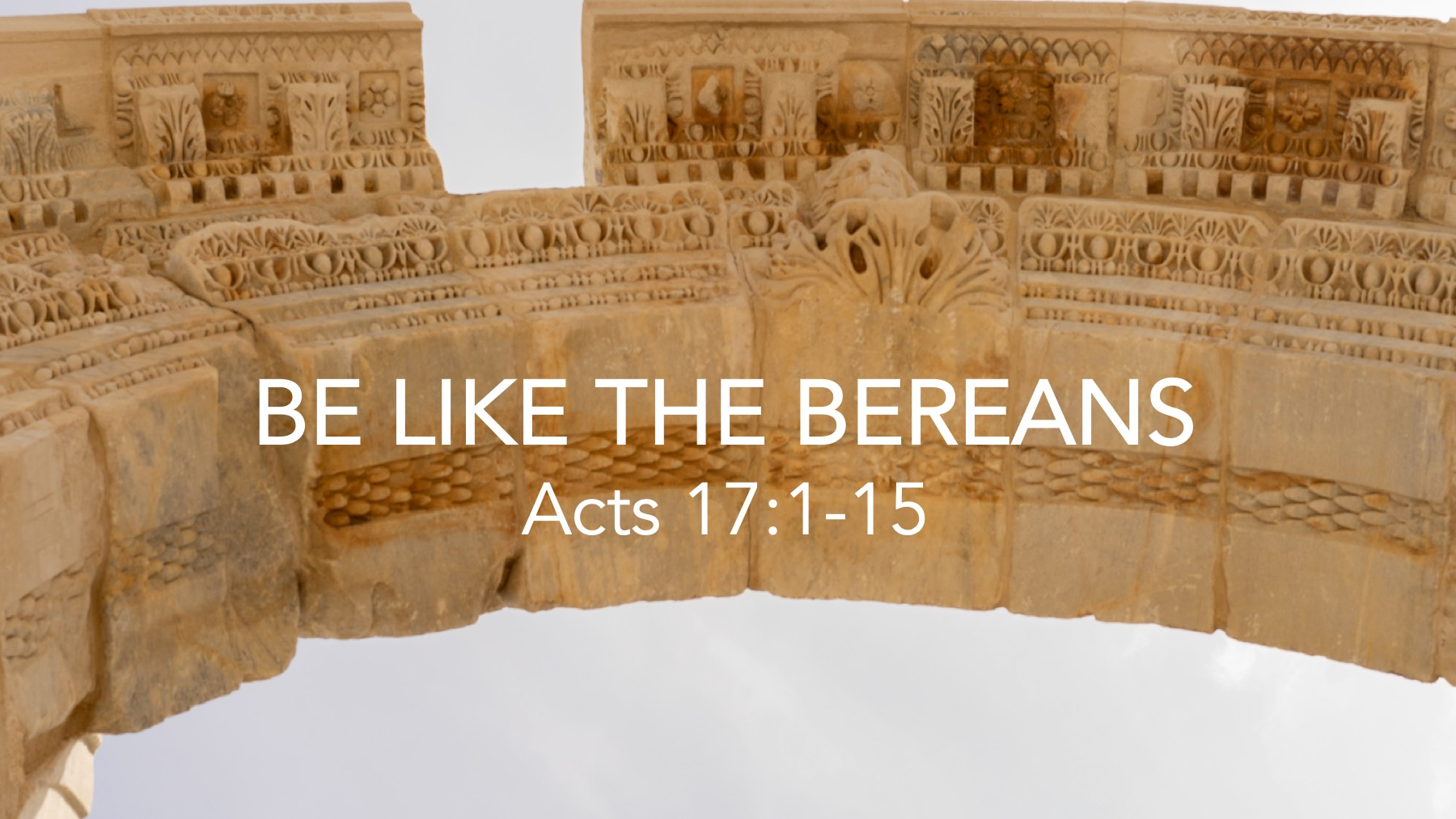 Be Like the Bereans