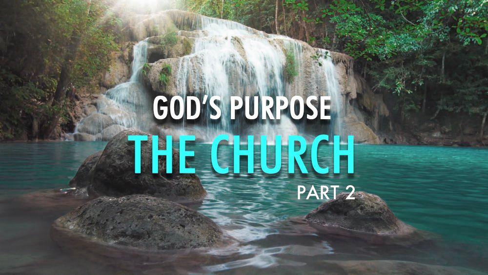 God's Purpose: The Church (Part 2)